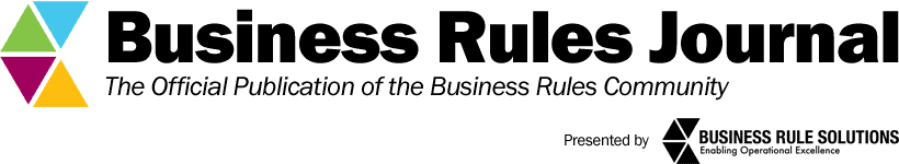 Business Rules Journal