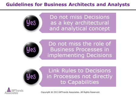 Building Business Capability 2014 Decisioning Panel: Decisions from